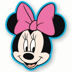 minnie mouse head clipartion