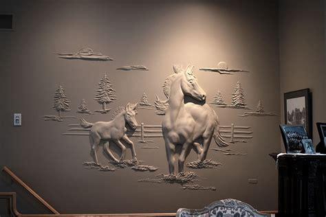 Metal Wall Murals drywall worker creates stunning 3d art using only joint