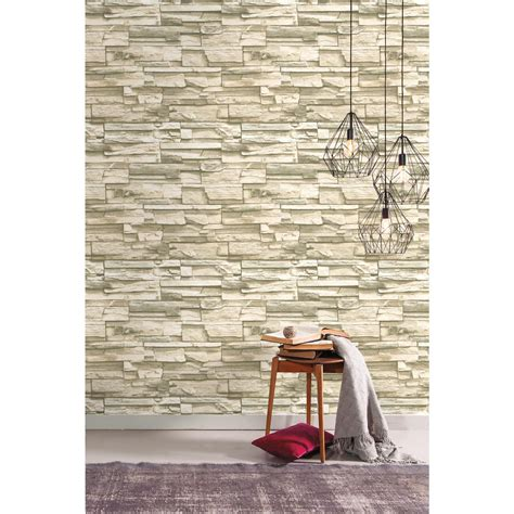 peel and stick wall decor roommates natural stacked stone peel and stick wall decor