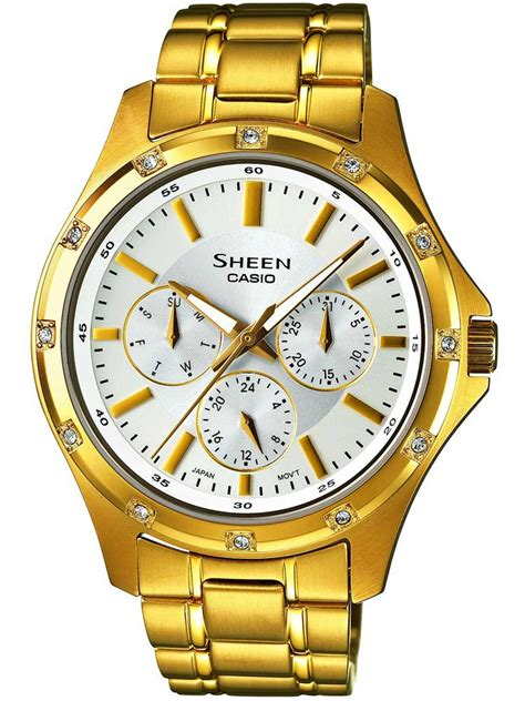 Casio Sheen She 3023d 7adr casio sheen she 3801gd 7aef