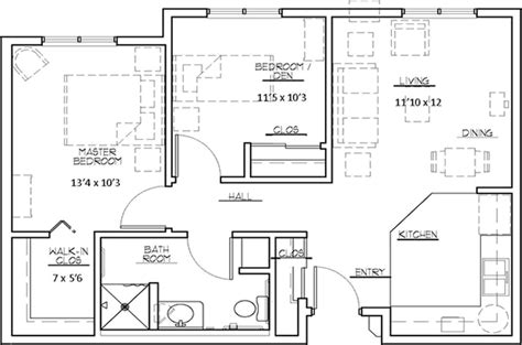 two bedroom apartment twobedroom apartment in complex the heights at evansville manor floor plans