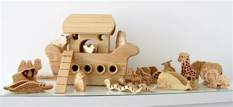 noah s ark boat with animals natural wood noah s ark boatwood like to play