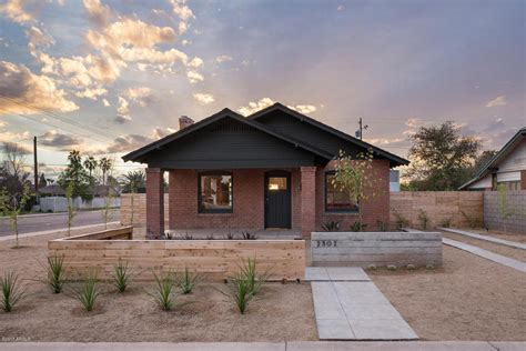 brick bungalow historic meets modern in a 1920s bungalow in
