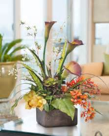 artificial floral centerpieces buy calla orchid splendor artificial flower