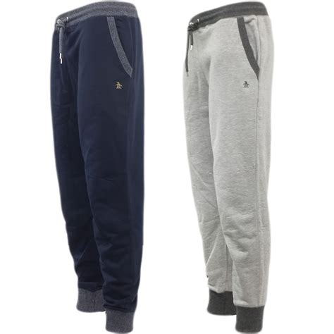 Joger Softjeans mens joggers original penguin sweatpant jogger soft cotton ebay