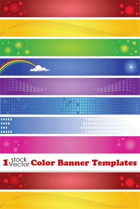 Elements Of Color Banner Templates Vector Free Download Banner Design Templates In Photoshop Free