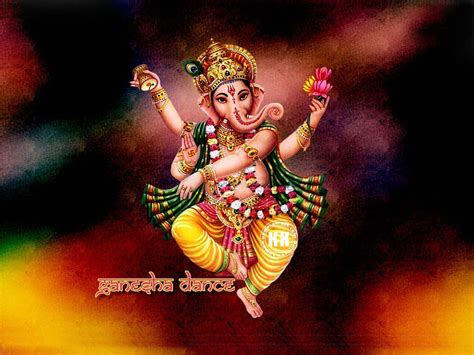 computer wallpaper god ganesh dancing ganesha dancing lord ganesha hindu god