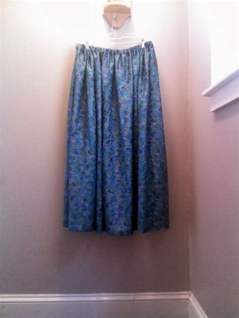 easy maxi skirt pattern sewing