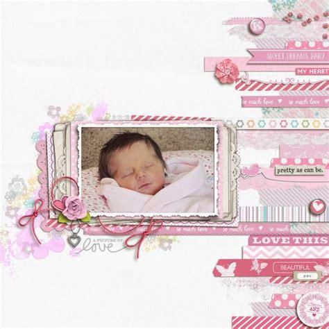 scrapbook layout ideas for baby girl baby scrapbook page layout ideas www pixshark com