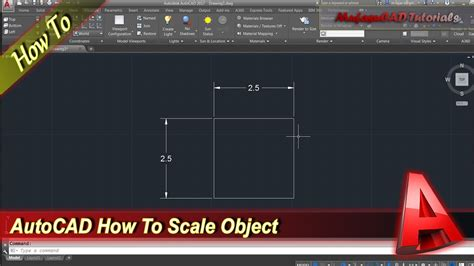 autocad tutorial how to scale autocad how to scale youtube