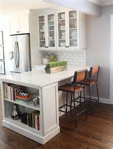 Kitchen Island Peninsula by Hello Kitchen Renovation Cooks World