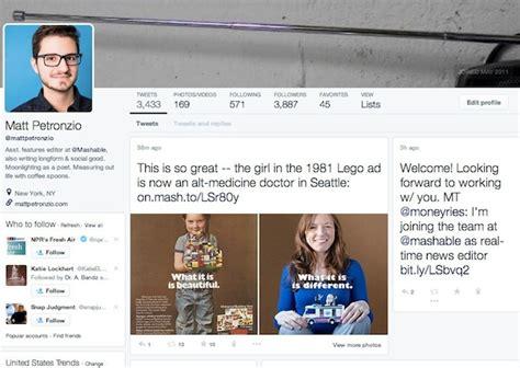 site similar layout it twitter testing reved profile design similar to