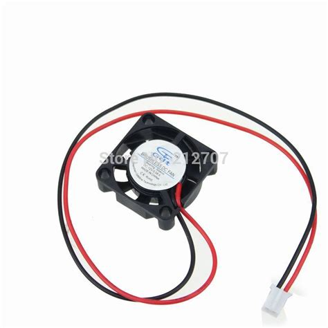 Fan Dc 12 Volt 5 Cm 50pcs 9 blades 2507 2 5cm 2pin 12 volt cooling fans 25mm