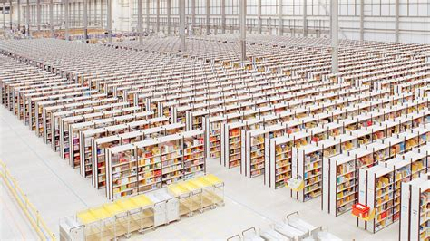 warehouse layout book how amazon s delivery process and warehouse robots