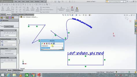 solidworks tutorial in hindi solidworks tutorial 8 text and point in hindi youtube