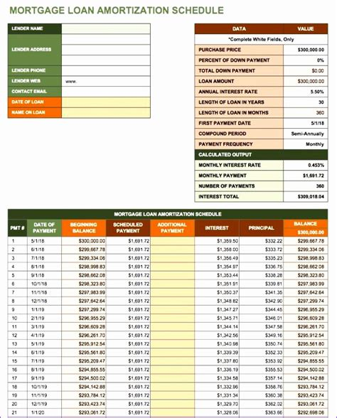10 Amortization Table Excel Template Exceltemplates Exceltemplates Microsoft Excel Amortization Template