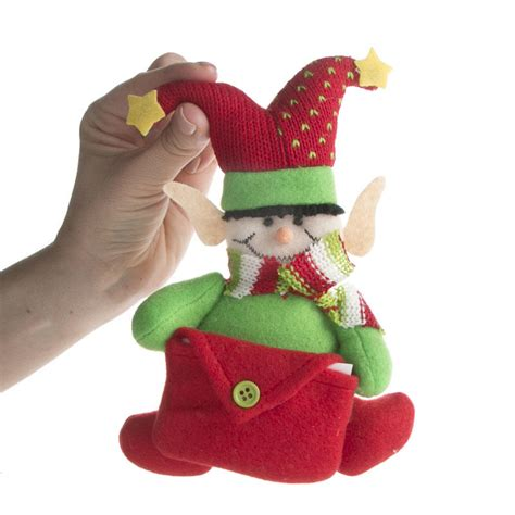plush elf christmas ornament christmas ornaments