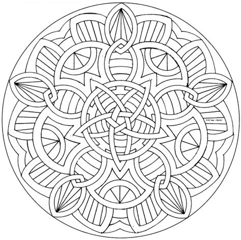 celtic mandala coloring pages for adults free coloring pages of nios mandala