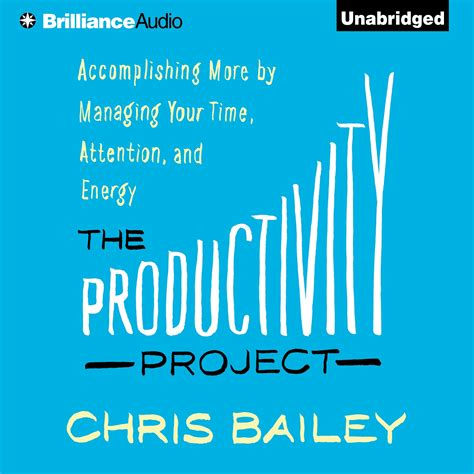 the productivity project accomplishing the productivity project audiobook listen instantly