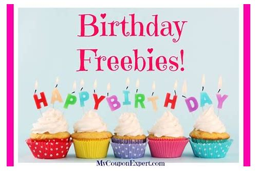 freebies for your birthday near me