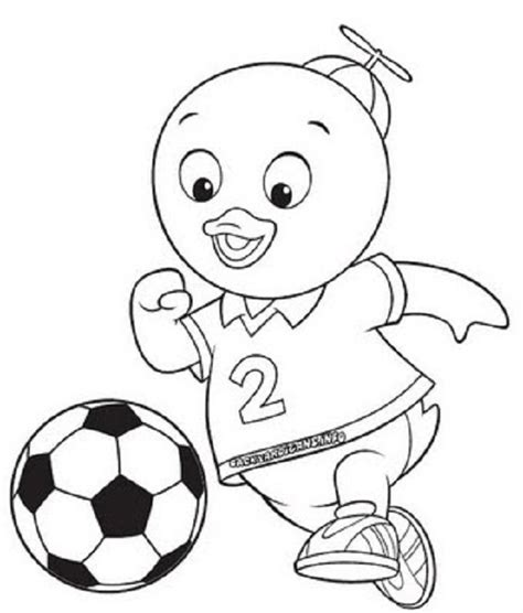 Free Printable Backyardigans Coloring Pages For Kids Backyardigans Coloring Pages
