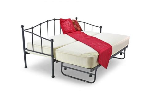 2ft 6 Mid Sleeper by Metal Beds 2ft6 75cm Small Single Underbed Black