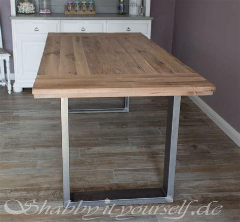 Tisch Selber Bauen Ideen by Einen Rustikalen Loft Tisch Selber Bauen So Geht S