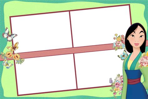 Mulan Photobooth Template 4x6 Inches Or 4r By Dasefernando On Deviantart 4x6 Photo Booth Templates