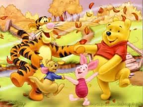 autumn funs winnie pooh picture