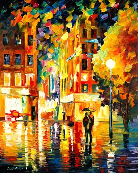 paint nite nyc in new york palette knife painting on canvas
