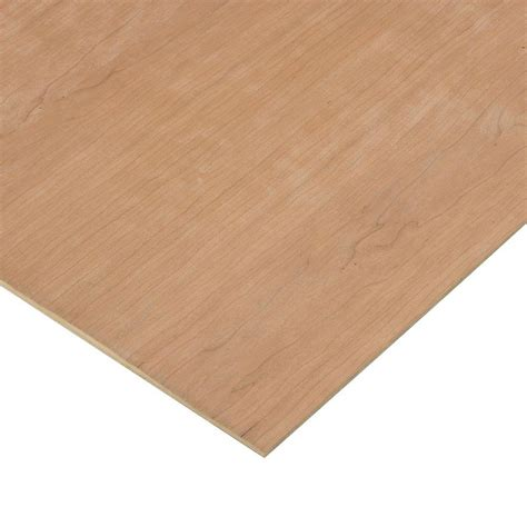 1 4 in x 2 ft x 4 ft purebond cherry plywood project
