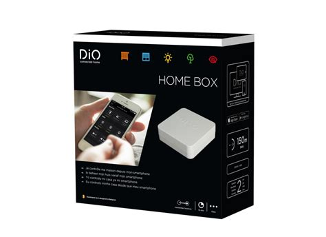 home automation system homebox dio connected home
