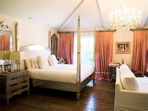 Four Poster Bed Curtains home tour kyle richards real housewives of beverly