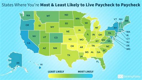 Still Richer Than Most Of Us 2 by States Where You Re Most And Least Likely To Live Paycheck