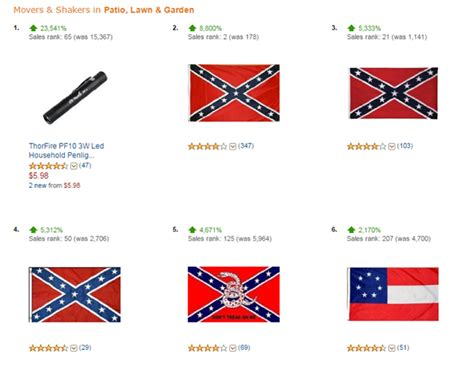 design meaning of the confederate flag amazon s confederate flag sales skyrocket cbs news
