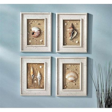 shell bathroom decor bathroom decor ideas framed shells decorating ideas
