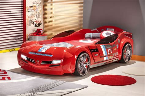 toddler race car bed bedroom red race car cool shaped beds for kids cool shaped beds design furniture