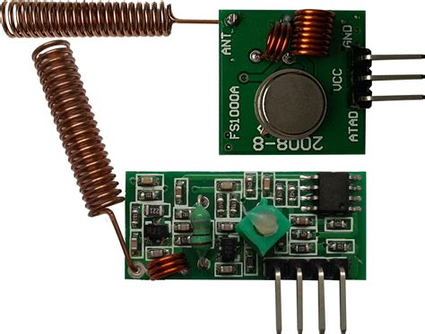 Light Interference New Arduino Library For 433 Mhz Am Radio Modules