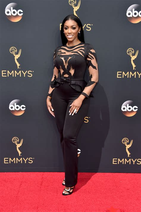 porsha williams 2016 porsha williams best dressed at the 2016 emmy awards