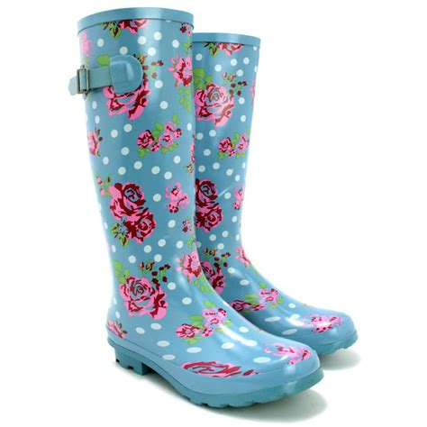 wellies boots sale new womens funky snow welly wellies
