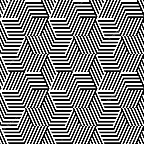 pattern line black pattern with line black and white in zigzag stock vector