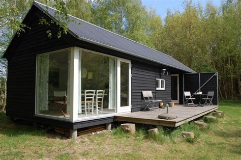 Prefabricated Cabin by 592 Sq Ft Modular Tiny Home By M 248 N Huset