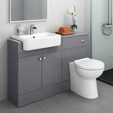 built in bathroom sink units toilet and sink ebay