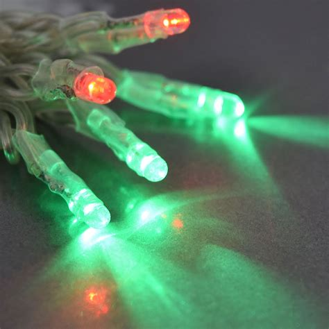 small string of battery operated led lights tiny led battery operated stringlight strand 10 green bulbs