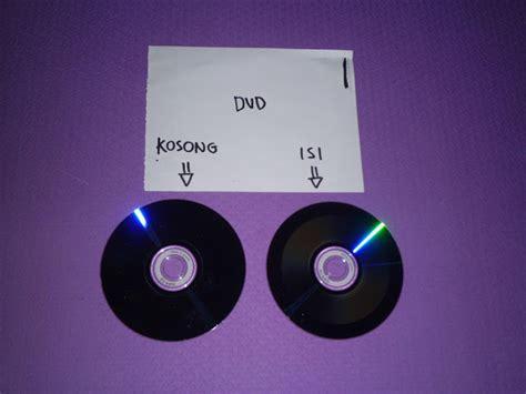 format cd dan dvd cara membedakan dvd kosong dan dvd isi pripun carane