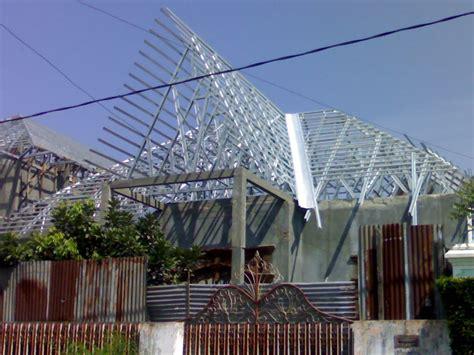 Konstruksi Ruang Baja konstruksi baja ringan membuat bangunan kuat dan mudah dibuat jual beli sewa rumah