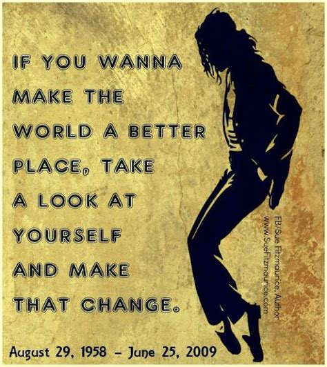 michael jackson make the world a better place lyrics if you wanna make the a better place take a look