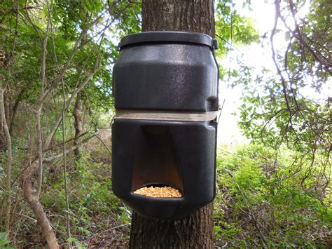 How To Make A Pig Gravity Feeder tree only model deer quot pig out quot gravity feeder corn protein bin tree t post ebay