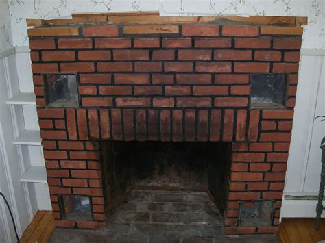 brick laminate picture brick fireplaces for stoves