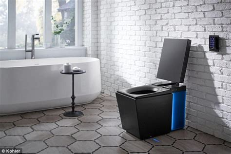 bathrooms set to become more hi tech in future kohler s voice activated smart loo has an automatic flush
